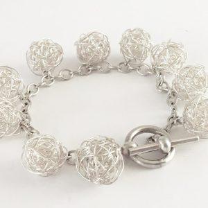 Silverthread Drop Bracelet
