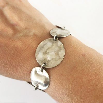 Reticulated Circles Bracelet
