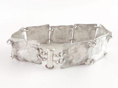 Reticulated Squares Bracelet