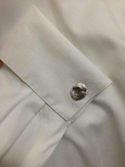 Reticulated Cuff Links