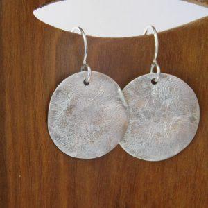 Small Circle Earrings