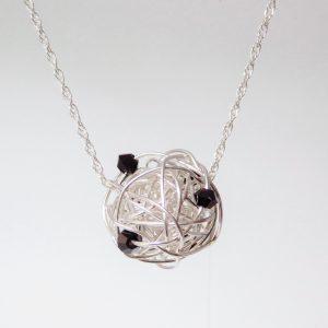 January/Garnet Necklace