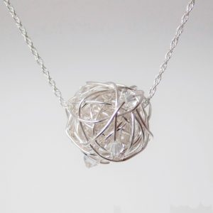 April Birthstone Necklace