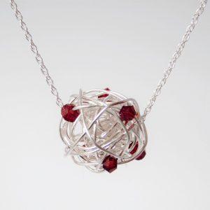 July Birthstone Necklace