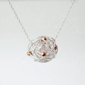 Silverthread Drop Necklace