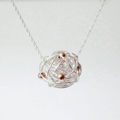 Silverthread Drop Necklace