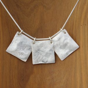3 Squares Necklace